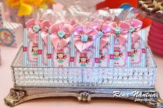 Circo sempre é um classico né? E se for Circo Rosa par meninas fica um charme. Essa festa linda, o Circo da Ana Livia, aconteceu no Marluce´...