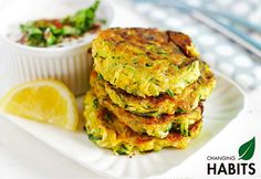 These easy corn fritters are great for hiding veggies from the kids. Super tasty and easy to make, what is not to love! Zucchini Patties, Veggie Patties, Zucchini Fritters, Fried Zucchini, Healthy Snacks, Healthy Eating, Healthy Recipes, Savoury Recipes, Weekly Recipes