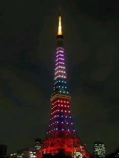 Tokyo Tower... Arashified [2012.03.16]