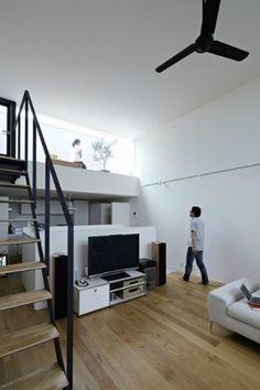 땅콩주택을 닮은 미니 주택 인테리어~♪    일본 요코하마에 위치하고 있는 작지만 심플한 매력을 갖고 있는 하우스를 소개해드릴까 해요~^^언덕 위에 지어진 박스형태의 집으로, 주위의 다른 전통 가옥들과 비교되는 재미있는 모습을 하고 있는데요, 내츄럴한 환경과 모던한 건축물의 만남.. 그래서  더욱 독특하게 보이는것 같아요. ..