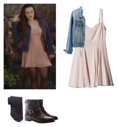 Hanna Baker - 13 Reasons why by shadyannon on Polyvore featuring polyvore fashion style Comptoir Des Cotonniers Yves Saint Laurent clothing