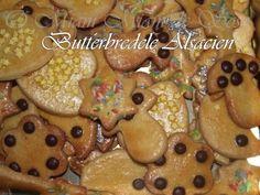 En Alsace, les maitresses de maison s'appliquent à confectionner de nombreuses variétés dès le temps de l'Avent, suivant ainsi la tradition des fêtes de Noël . Epicés, décorés , ou tout simplement nature, rien de plus simple ! Source - Marmiton INGREDIENTS...