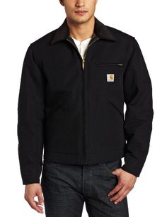 Carhartt Men's Weathered Duck Detroit Jacket J001,Black,Medium https://www.amazon.com/dp/B004OWUK6E/ref=cm_sw_r_pi_dp_x_xyDoyb6QW8HR7