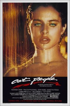 Cat People Movie Poster (1982)