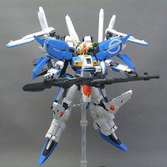 GUNDAM GUY: HGUC 1/144 Ex-S Gundam - Painted Build