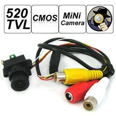 SecurityIng - 520 TV Lines MC495 1/3 Inch CMOS Image Sensor Mini Covert Color CCTV Surveillance Security Camera, 3.6mm F2.0/90 Degrees View Angle Lens, Support Video and Audio Output, for Hidden Audio & Video Surveillance Security Camera by SecurityIng. $31.98. S/N Ratio: > / = 48dB. Minimum Illumination: 0.008Lux/F1.2. Operating Temperature: -20 ~ 50 Degrees Celsius. Operation Humidity: RH85%. Lens Dimensions(L x W x D): 0.95 x 0.63 x 0.86 inch.   What's In The BOX: 1 * ...