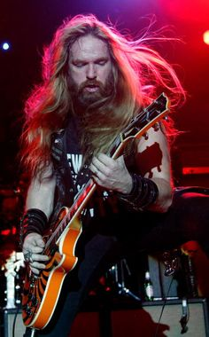 Black Label Society frontman Zakk Wylde performs at the Marquee Theatre April 28…