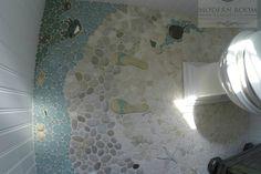 Bathroom Photos - beach-style - Powder Room - Boston - Wet Dog Tile Co.
