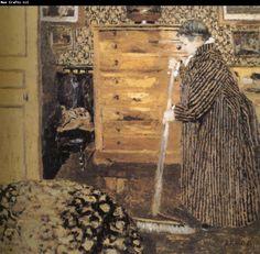   Adolph Menzel Museum: The woman Edouard Vuillard