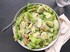 A simple salad that puts a ubiquitous supermarket staple to work. Canned hearts of palm have a vegetal, slightly nutty flavor similar to artichokes, and they combine perfectly with butter lettuce and avocado.