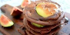 Chocolate Fig Pancakes