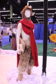 Mr. Tumnus - Keep Calm and Craft On: Yarnia Knitted Character Exhibit by…