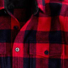 Wallace & Barnes buffalo check CPO jacket - Mens - Gift Guide - J.Crew