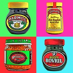 Pop Art Prints - Cool Condiment Posters & Cushions by Cape Town artist Lynden Reabow
