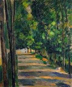 Paul Cezanne, Avenue, ca,1880-82
