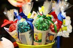30 Lembrancinhas para Festa Turma da Mônica Music Party, Malu, Holidays And Events, Bento, Alice, Picnic, Happy Birthday, Table Decorations, Toys