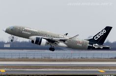 Bombardier CSeries CS100 (BD-500-1A10) - Bombardier | Aviation Photo #4286761 | Airliners.net