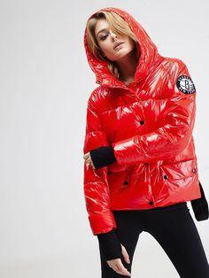 Apres Ski, Puffy Jacket, Russia, Jackets For Women, Leather Jacket, Womens Fashion, Coats, Woman, No Churn Ice Cream