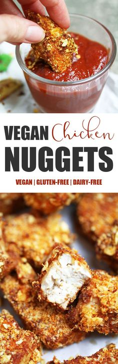 Vegan Tofu 'Chicken' Nuggets I was only exposed to chicken nuggets when I moved to the UK and as you can imagine, I absolutely fell in love with them! Crispy on the outside, soft on…
