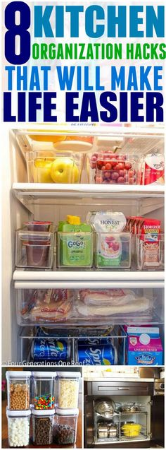 My kitchen is so organized now! I never would have been able to organize it without these hacks!