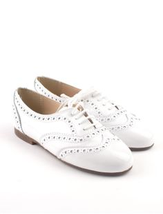 retro brogues patent leather girls lace-up shoes fa612d25300