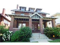 Meridian Park Historic Homes Neighborhood in Indianapolis