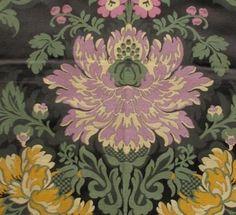 French vintage silk