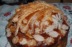 Korovai - Ukrainian Wedding Bread Bread And Pastries, Ukrainian Recipes, Ukrainian Food, Bread Art, Polish Recipes, Other Recipes, Bread Baking, Bread Recipes, Special Occasion