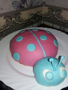 Торт божя коровка