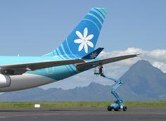 Air Tahiti Nui Air Tahiti, Tahiti Nui, Pacific Ocean, Airplane, Aircraft, Wanderlust, Commercial, Medium, Plane