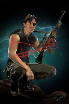 Buffy the Vampire Slayer Xander Harris (Poster Print)11x17in Angel Joss Whedon