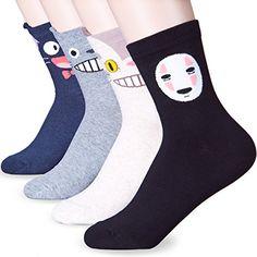 Mascot Anime Character Crew Socks (Onesize, 4 Pairs) Dani... https://www.amazon.com/dp/B075Q4TG6W/ref=cm_sw_r_pi_dp_x_vWohAb6YH3CE9