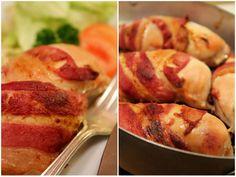 Baconsvøpt Kylling med sennep...