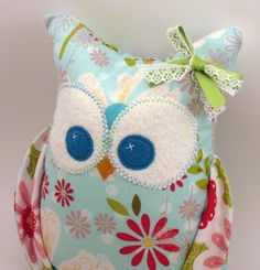 Such a cute owl for an owl nursery or even just as a toy! No choking hazards!! Etsy.com, $24.00