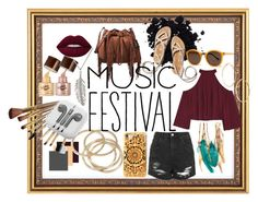 """Festival Look"" by rarimena ❤ liked on Polyvore featuring Diane Von Furstenberg, ABS by Allen Schwartz, W118 by Walter Baker, Delicates by Paloma & Ellie, Topshop, Thierry Lasry, Boohoo, Felony Case, PhunkeeTree and GUESS by Marciano"