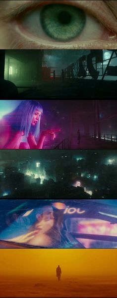 Blade Runner 2049 can be one of this year best visually stunning film. Productio… Blade Runner 2049 can be one of this year best visually stunning film. Production Design, Visual Effect and Cinematogrphy of film in trailer is pretty awesome. Film Blade Runner, Blade Runner 2049, Film Science Fiction, Color In Film, Roger Deakins, Denis Villeneuve, Arte Cyberpunk, Cinematic Photography, Movie Shots
