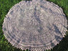 Ravelry: Summer Rose pattern by MMario - Beautiful free knitting pattern Knit Or Crochet, Lace Knitting, Knitting Stitches, Knitting Patterns Free, Knitted Shawls, Knitted Blankets, Baby Blankets, Baby Shawl, Knit Dishcloth
