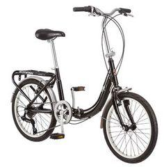 Schwinn Loop 7 Speed Folding Bike (Black)