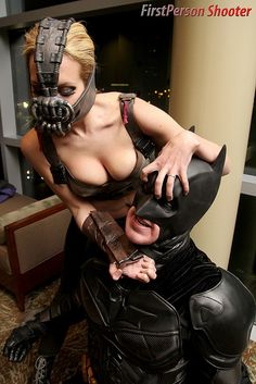 Batman and Bane, Rule #63, The Dark Knight Rises.