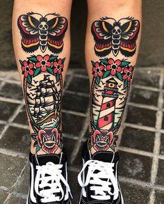by ………… # traditionelles … – Tattoo, Tattoo Ideen, Tattoo Shops, Tattoo Darsteller, Tattoo Kunst - Famous Last Words Vine Tattoos, Weird Tattoos, Trendy Tattoos, Leg Tattoos, Body Art Tattoos, Sleeve Tattoos, Dream Tattoos, Tatoos, Sanduhr Tattoo Old School