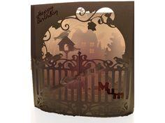 3D box card Secret Garden | SnapDragon Snippets