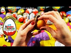 NEW Surprise Eggs Opening Kinder Surprise Elmo Disney Pixar Cars Mickey Minnie Mouse - YouTube