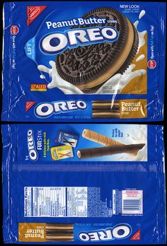 nabisco packages | Nabisco - Oreo Peanut Butter Creme cookie package - 2009 | Flickr ...