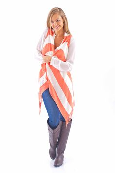 Wrapped Up In You Cardigan-Apricot - $48.00