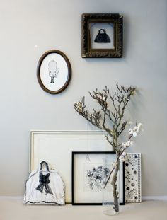 Life And Death, Illustrator, Past, Gallery Wall, Frame, Home Decor, Style, Picture Frame, Swag