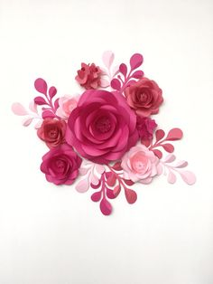 Baby room Wall Decor Paper Flowers  Paper Flowers over the