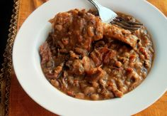 Slow Cooker Black Eyed Peas with Ham Hocks - Creole Contessa -Will make with Smoked Turkey instead