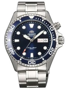 Orient Blue Ray Automatic Dive Watch CEM65009D: Watches: Amazon.com    $149.00