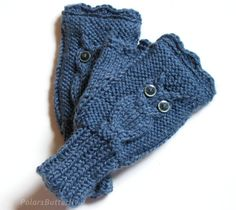 Texting Gloves Fingerless Mittens Winter Trends by Polar1Butterfly