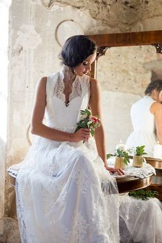 Das perfekte Brautdirndl Hochzeitskleid = das Tian van Tastique Brautdirndlkleid